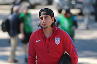 San Diego, CA - Sunday January 29, 2017: Alejandro Bedoya prior to an international friendly between the men's national teams of the United States (USA) and Serbia (SRB) at Qualcomm Stadium.