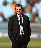 PRETORIA, SOUTH AFRICA - OCTOBER 06: Scott McLeod, Assistant Defence Coach of the New Zealand All Blacks during the Rugby Championship match between South Africa Springboks and New Zealand All Blacks at Loftus Versfeld Stadium. on October 6, 2018 in Pretoria, South Africa. Photo: Steve Haag / stevehaagsports.com