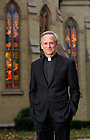 Oct. 27, 2014; University of Notre Dame President Rev. John I. Jenkins, C.S.C., - 2014 Annual Report. (Photo by Barbara Johnston/University of Notre Dame)