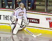 Brian Billett (BC - 1) - The Boston College Eagles defeated the visiting Providence College Friars 4-1 (EN) on Tuesday, December 6, 2011, at Kelley Rink in Conte Forum in Chestnut Hill, Massachusetts.