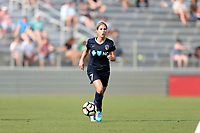 Cary, North Carolina  - Saturday April 29, 2017: McCall Zerboni during a regular season National Women's Soccer League (NWSL) match between the North Carolina Courage and the Orlando Pride at Sahlen's Stadium at WakeMed Soccer Park.
