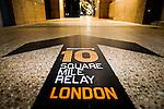 Branding - Bloomberg Square Mile Relay London 2016