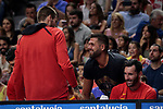 Felipe Reyes during the Friendly match between Spain and Dominican Republic at WiZink Center in Madrid, Spain. August 22, 2019. (ALTERPHOTOS/A. Perez Meca)
