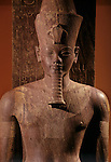 Quartzite statue of Amenhotep III as god Atum,Tutankhamun and the Golden Age of the Pharaohs; Page 18