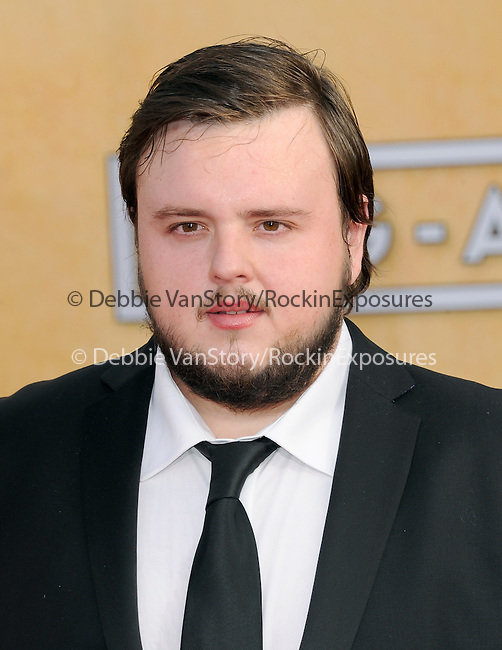 John Bradley attends The 20th SAG Awards held at The Shrine Auditorium in Los Angeles, California on January 18,2014                                                                               © 2014 Hollywood Press Agency