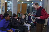 NEST+m 4th grade public school visit to NYU Physics and Chemistry departments May 2017