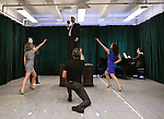 Tom Galantich and the cast during the 'Clinton The Musical' - Sneak Peek at Ripley Grier Studios on March 4, 2015 in New York City.