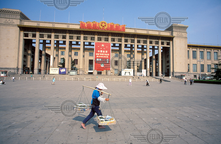 © Chris Stowers / Panos Pictures..Beijing, CHINA..Hall of the People, Tianamen Square.
