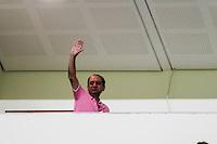 BELO HORIZONTE,MG, 02.11.2016 – ATLETICO - INTERNACIONAL– Prefeito eleito, Alexandre Kalil durante partida do Atlético contra o Internacional em jogo válido pela semifinal da Copa do Brasil 2016, na Arena Independência, em Belo Horizonte, nesta quarta-feira, 02. (Foto: Doug Patricio/Brazil Photo Press)