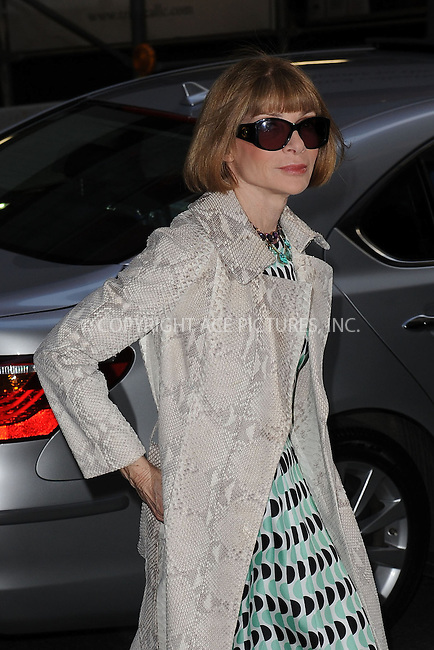 WWW.ACEPIXS.COM . . . . . .April 21, 2013...New York City....Anna Wintour attends the Cinema Society screening of 'Mud' at The Museum of Modern Art on April 21, 2013 in New York City ....Please byline: KRISTIN CALLAHAN - ACEPIXS.COM.. . . . . . ..Ace Pictures, Inc: ..tel: (212) 243 8787 or (646) 769 0430..e-mail: info@acepixs.com..web: http://www.acepixs.com .