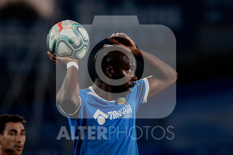 Getafe CF's Allan Nyom during Preseason match between Getafe CF and Crotone FC at Colisseum Alfonso Perez in Getafe, Spain. August 02, 2019. (ALTERPHOTOS/A. Perez Meca)