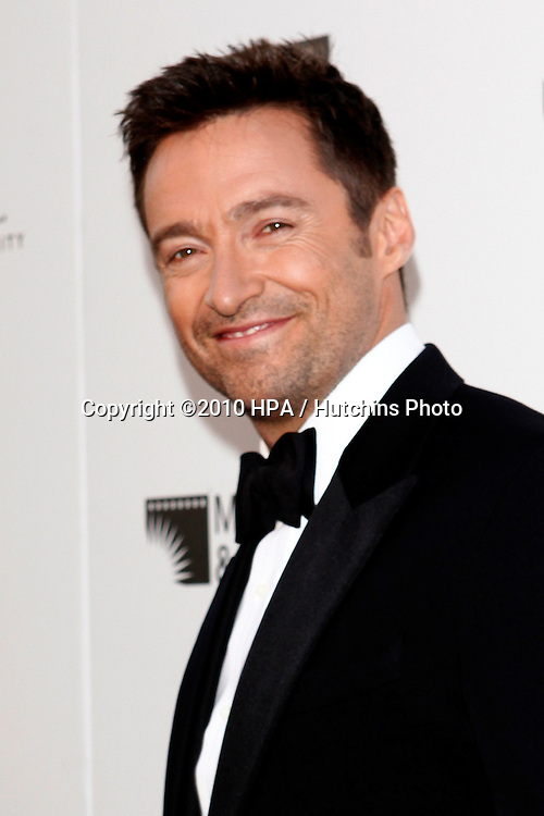 """Hugh Jackman.arrives at """"A Fine Romance"""" -  2010.Sony Pictures Studios.Culver City, CA.May 1, 2010.©2010 HPA / Hutchins Photo..."""