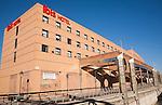 Modern Ibis hotel building in city centre Malaga, Spain Ibis Málaga Centro Ciudad