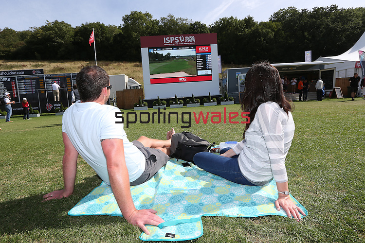 ISPS Handa Wales Open 2013<br /> Tented Village<br /> <br /> 01.09.13<br /> <br /> &copy;Steve Pope-Sportingwales