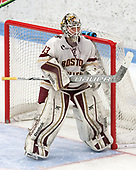 Katie Burt (BC - 33) -  The Boston College Eagles defeated the University of Vermont Catamounts 4-3 in double overtime in their Hockey East semi-final on Saturday, March 4, 2017, at Walter Brown Arena in Boston, Massachusetts.