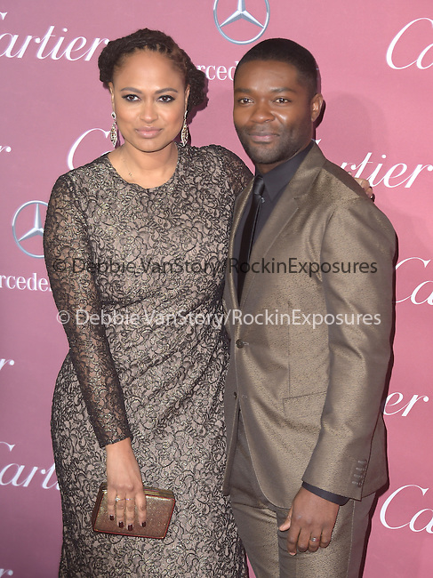 David Oyelowo, Ava DuVernay attends The The 26th Annual Palm Springs International Film Festival in Palm Springs, California on January 03,2015                                                                               © 2014 Hollywood Press Agency