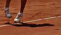 BOGOTÁ - COLOMBIA - 23-02-2013: Karin Knapp de Italia, en acción, durante partido por la Copa de Tenis WTA Bogotá, febrero 23 de 2013. (Foto: VizzorImage / Luis Ramírez / Staff). Karin Knapp from Italy in action, during a match for the WTA Bogota Tennis Cup, on February 23, 2013, in Bogota, Colombia. (Photo: VizzorImage / Luis Ramirez / Staff)....................................