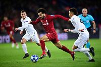 Mohamed Salah (Liverpool) vs KEHRER Thilo (PSG) <br /> Parigi 28-11-2018 <br /> Paris Saint Germain - Liverpool Champions League 2018/2019<br /> Foto JB Autissier / Panoramic / Insidefoto <br /> ITALY ONLY
