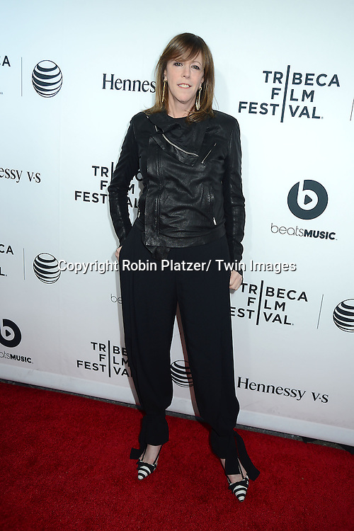 """Jane Rosenthal attends the opening Night of the 2014 Tribeca Film Festival screening of """"Time Is Illmatic"""" on April 16, 2014 at the Beacon Theatre in New York City, USA."""