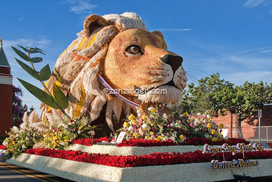 Rose Parade Floats, Tournament of Roses Parade Floats, Pasadena CA