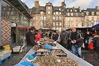 Vente de fruits de mer