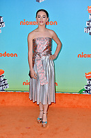 LOS ANGELES, CA. March 23, 2019: Sky Katz at Nickelodeon's Kids' Choice Awards 2019 at USC's Galen Center.<br /> Picture: Paul Smith/Featureflash