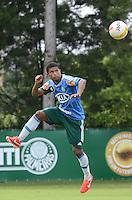 SAO PAULO, 29 DE MARCO DE 2013 - TREINO PALMEIRAS - O jogador Marcio Araujo durante treino do Palmeiras, no CT da Barra Funda, região oeste da capital, na manha desta sexta feira, 29. (FOTO: ALEXANDRE MOREIRA / BRAZIL PHOTO PRESS)