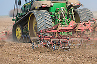 Cultivating for sugar beet, Lincolnshire, March