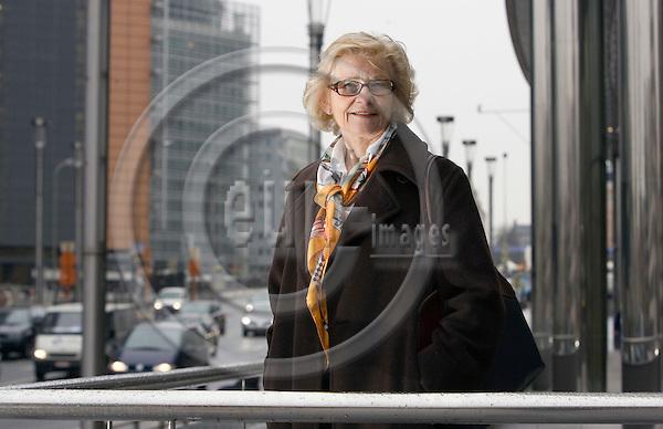 BRUSSELS - BELGIUM - 27 FEBRUARY 2006 -- Marit ENGEBRETSEN, Energy Councillor at the Norwegian Mission to the EU. -- PHOTO: JUHA ROININEN / EUP-IMAGES