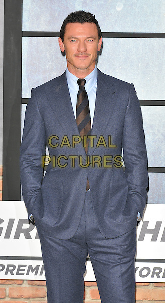 Luke Evans at the &quot;The Girl on the Train&quot; world film premiere, Odeon Leicester Square cinema, Leicester Square, London, England, UK, on Tuesday 20 September 2016.<br /> CAP/CAN<br /> &copy;CAN/Capital Pictures