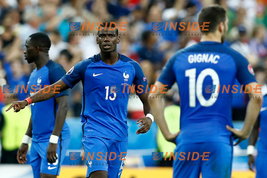 Paul Pogba (France) <br /> Paris 10-07-2016 Stade de France Football Euro2016 Portugal - France / Portogallo - Francia Final / Finale <br /> Foto Matteo Ciambelli / Insidefoto