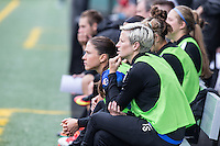 Seattle, WA - Saturday Aug. 27, 2016: Megan Rapinoe during a regular season National Women's Soccer League (NWSL) match between the Seattle Reign FC and the Portland Thorns FC at Memorial Stadium.