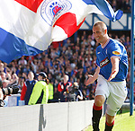 Man of the match Kenny Miller celebrates after scoring his second goal