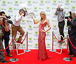 "No Repro Fee.<br /> <br /> ""Cannes"" you win the €60 million EuroMillions jackpot?<br /> <br /> The Cannes Film Festival is in full swing and Friday's (23/5/14) EuroMillions jackpot is an estimated €60 million. To celebrate, international socialite Rosanna Davison will be hoping that one lucky player ""Cannes"" win the life changing jackpot. Rosanna brought some Hollywood red carpet glamour to Dublin for a special shoot, gracing a specially created National Lottery Cannes inspired red carpet, avoiding the paparazzi and hoping that one lucky player will take home the top prize of €60 million. Pic. Robbie Reynolds"