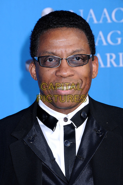 HERBIE HANCOCK.39th Annual NAACP Image Awards - Arrivals at the Shrine Auditorium, Los Angeles, California, USA..February 14th, 2008.headshot portrait sunglasses shades tinted glasses .CAP/ADM/BP.©Byron Purvis/AdMedia/Capital Pictures