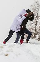 Fecha: 2016-03-07 Nieve en O Cebreiro, Lugo