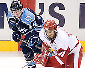 Bret Tyler, Jake Dowell - The University of Wisconsin Badgers defeated the University of Maine Black Bears 5-2 in their 2006 Frozen Four Semi-Final meeting on Thursday, April 6, 2006, at the Bradley Center in Milwaukee, Wisconsin.  Wisconsin would go on to win the Title on April 8, 2006.