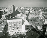 1961 November 3..Redevelopment.Downtown North (R-8)..Downtown Progress..North View from VNB Building..HAYCOX PHOTORAMIC INC..NEG# C-61-5-92.NRHA#..