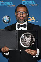 BEVERLY HILLS, CA - FEBRUARY 3: Jordan Peele  in the press room at the 70th Annual Directors Guild of America Awards (DGA, DGAs),  at The Beverly Hilton Hotel in Beverly Hills, California on February 3, 2018.  <br /> CAP/MPI/FS<br /> &copy;FS/Capital Pictures