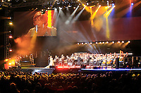 Welcome To Wales Concert at the Millenium Stadium Cardiff for the The 2010 Ryder Cup at the Celtic Manor, Newport, Wales, 29th September 2010..Sherlie Bassey on stage.(Picture Manus O'Reilly/www.golffile.ie)
