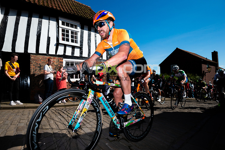 Picture by Alex Whitehead/SWpix.com - 13/05/2018 - British Cycling - HSBC UK Spring Cup Series - Lincoln Grand Prix - Russell Downing of Holdsworth Bikes.