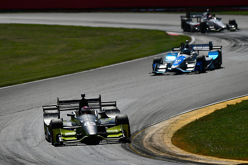Verizon IndyCar Series<br /> Honda Indy 200 at Mid-Ohio<br /> Mid-Ohio Sports Car Course, Lexington, OH USA<br /> Sunday 30 July 2017<br /> Charlie Kimball, Chip Ganassi Racing Teams Honda<br /> World Copyright: Scott R LePage<br /> LAT Images<br /> ref: Digital Image lepage-170730-to-10520