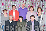 Residents from Daltons Avenue which won the best small estate at the Killarney Tidy Towns awards in the Dromhall Hotel on Monday night front row l-r: Fr Michael Murphy, Breda Horgan, Pascal Sheehy. Back row: Riona O'Dowd, Marie Murphy, Donal Murphy, Helen O'Donoghue and Maisie O'Sullivan..