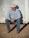 Cattle branding with the Dell'Orto family at the Ellis Ranch, Amador County, Calif.<br /> <br /> Kelly Wooster