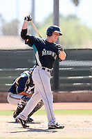 Jamie McOwen, Seattle Mariners 2010 minor league spring training..Photo by:  Bill Mitchell/Four Seam Images.