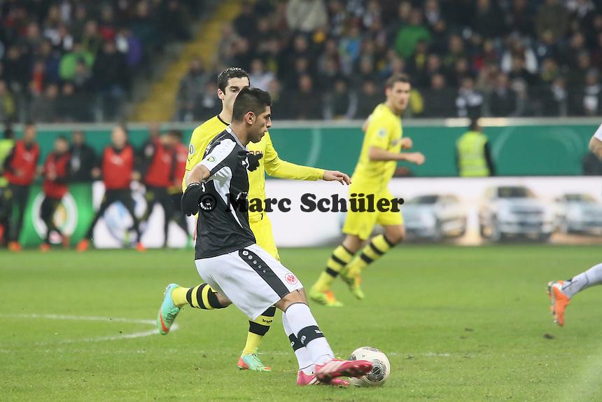 Carlos Zambrano (Eintracht) - Eintracht Frankfurt vs. Borussia Dortmund, DFB-Pokal Viertelfinale