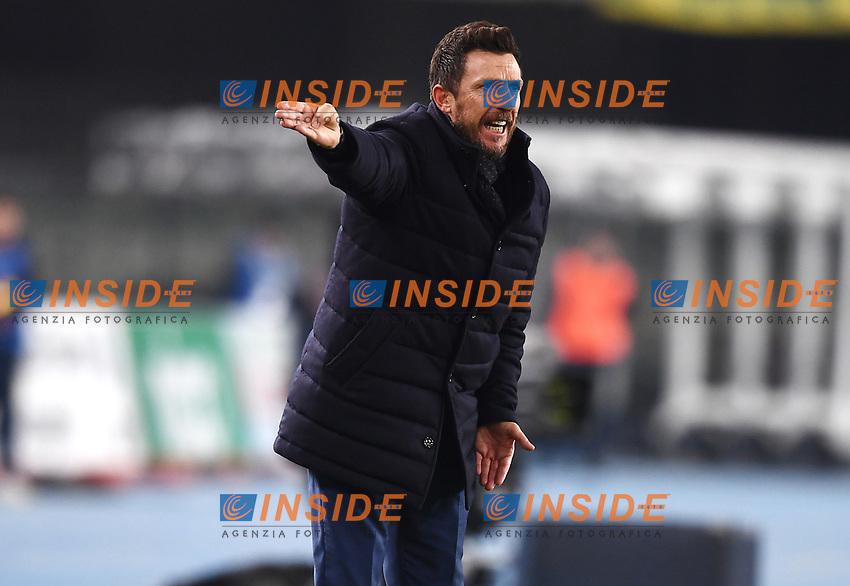 Eusebio Di Francesco of AS Roma <br /> Verona 8-2-2019 Stadio Bentegodi Football Serie A 2018/2019 Chievo Verona - AS Roma <br /> Foto Andrea Staccioli / Insidefoto