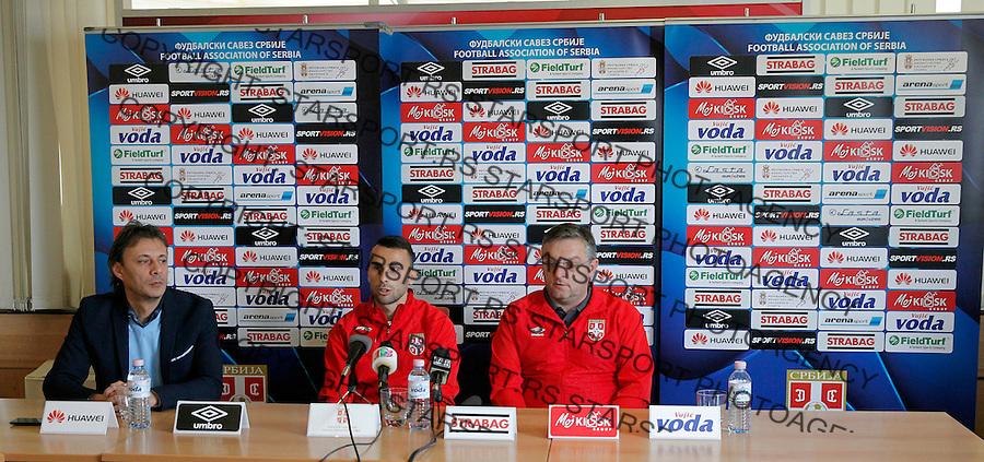 Milan Gajin Tomislav Sivic Reprezentacija, U21 Srbija - Norveska , baraz 11.11.2016. Beograd Srbija kvalifikacije  Serbia - Norway (credit image & photo: Pedja Milosavljevic / STARSPORT)