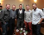 Celebrity Golf @ Golf Live.Ireland Team Ronnie Whelan, Martin O'Neil, Keith Duffy, Brian Ormond & Brian Mcfadden..Celtic Manor Resort.10.05.13.©Steve Pope