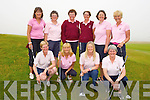 COMPETITION: Ballybunion ladies golf team who played Killarney ladies in the Junior Cup, on Sunday at Tralee Golf Club. Front l-r: Georgina Keane, Nora Quaid, Geraldine Williams and Pat Joyce. Back l-r: Mary O'Donoghue, Eileen Kenny-Ryan, Mary Sheehy (manager), Maria Shanahan (lady capt), Deirdre Dillane, Anne Marie Carroll.